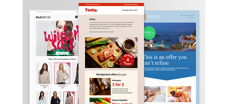 Professional email newsletter templates free with postman postman free newsletter templates pronofoot35fo Choice Image