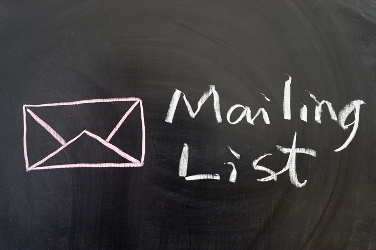 Our strategy for an optimised mailing list